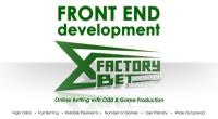 Main menu BETTING PROJECT XFactoryBet FrontEnd development - Main Betting form
